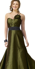 Wondrous One Sided Paddys Day Gown