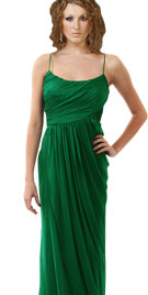 Strapped Floor Length Gown