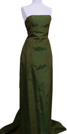 Enthralling Strapless Vintage Gown