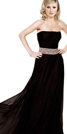 Strapless International Youth Dress   Youth collection