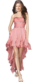 Alluringly Asymmetrical Youth Day Dress   Youth Fashionable Dresses